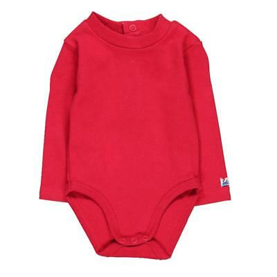 Bóboli Baby Body with stand up collar red for boys sz. 56 62 68 74 80