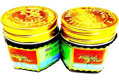 Pack Of Two Tiger Balm  Herbal Relief From Aches And Pain 18G Uk Seller