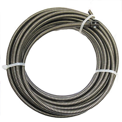 "COBRA 3/8"" x 100 Ft Drain Auger Cable Replacement Cleaner Snake Pipe Sewer Wire"