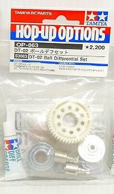 OP863 53863 Tamiya DT-02 Ball Differential Parts Set