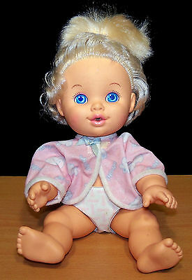 1989 Hasbro Baby Uh-Oh Doll - Drink and Wet - All Original - VGC