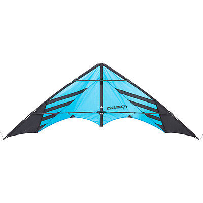 HQ Stunt Kite Sportkite Kite Cruiser with linen and Straps Ready to Fly Drac