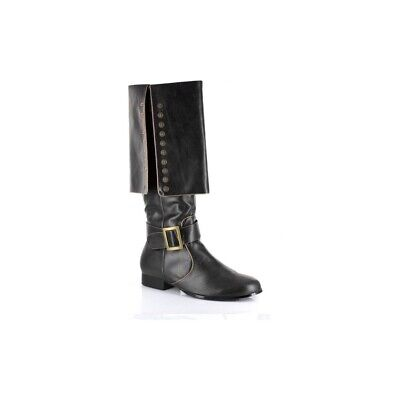 Pirate Captain Deluxe Adult Black Boots