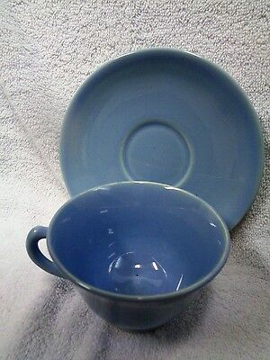 Lu Ray Pastels Blue    Cup and Saucer