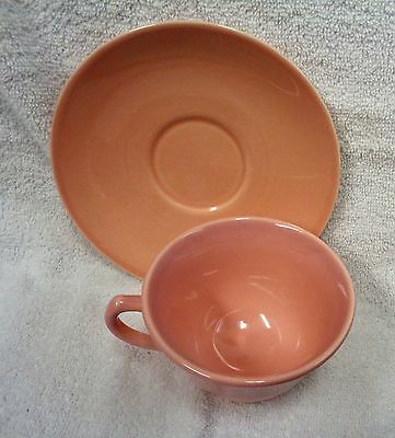 Lu Ray Pastels Pink  Cup and Saucer