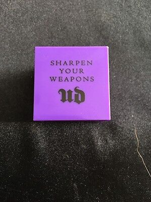 Urban Decay Grindhouse Double Barrel Sharpener UD SIN REHAB MUSHROOM NEW