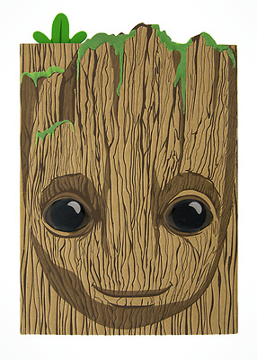 Disney Parks Marvel Guardians of the Galaxy Volume 2 Groot Journal Notebook