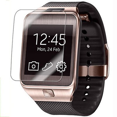 Tempered Glass Screen Protector Film For Smart Watch With Wipes Bubble Free New