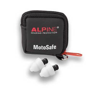 Alpine MotoSafe Touring Moulded Ear Plugs 17SNR Motorcycle Street Tour Commute