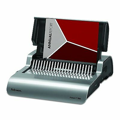 Fellowes Binding Machine Quasar E Electric Comb Binding 5216901