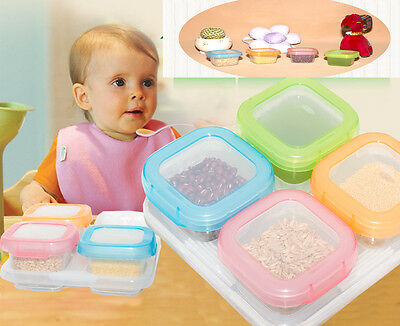 Baby Food Storage Container with Freezer Tray