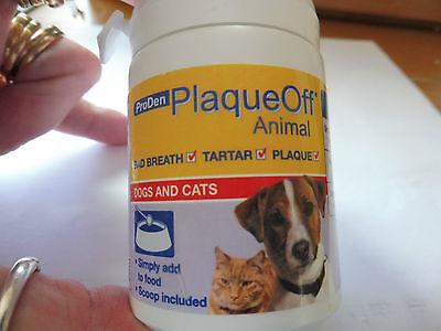 Plaque Off Treatment oral treatment 60g cats and dogs