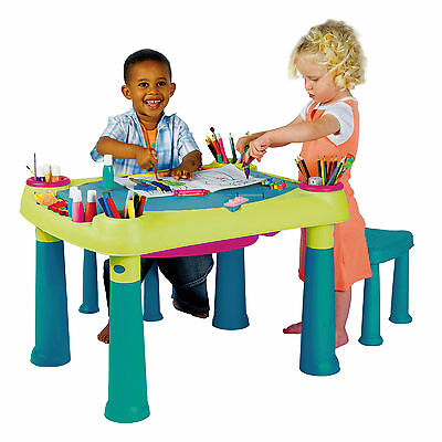 KETER Creative Play Table Kinder Spieltisch Wassertisch Sand and Water