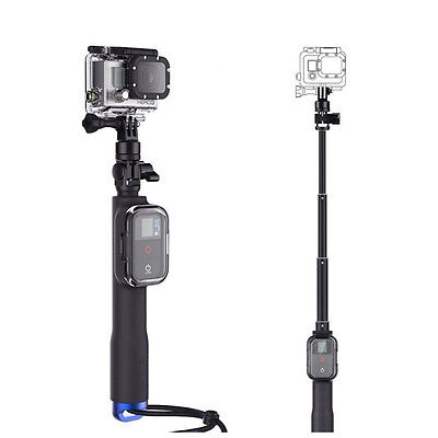 Waterproof Extendable Selfie Stick Pole+Wifi Housing f GoPro Hero 5 4/3+3 SJ7000