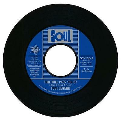TOBI LEGEND Time Will Pass You By NEW NORTHERN SOUL 45 (OUTTA SIGHT) CLASSIC