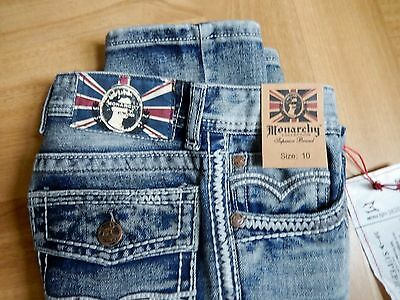 Boys Monarchy Collection Jeans size 10