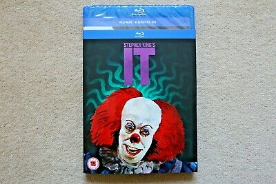 BLU-RAY STEPHEN KING`S IT with ltd edition sleeve    BRAND NEW SEALED UK STOCK