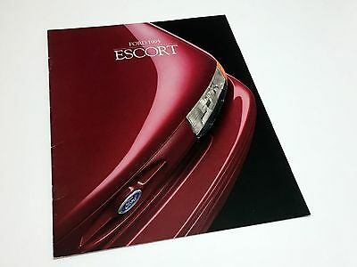 1995 Ford Escort Brochure - French