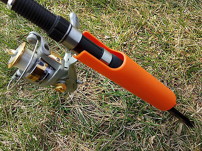 1 X Portable folding surf sea fishing rod ground holder rods support on beach