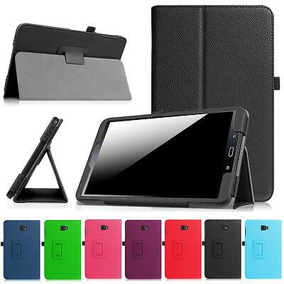 """NEW Luxury Stand Leather Case Cover For Samsung Galaxy Tab A 7"""" 8"""" 9.7"""" 10.1"""""""