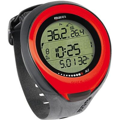 Mares Puck Pro Wrist Computer RED MAR-414127RD