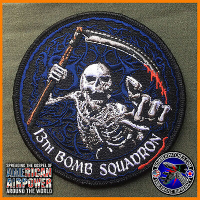 13th Bomb Squadron EBS 2015 Deployment Patch, B-2 509th Bomb Wing Whiteman AFB