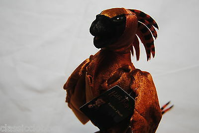 "Harry Potter Fawkes 10"" Plush Soft Toy Bnwt Official Movie Film Book Neca Albus"