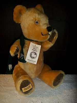 """Gorgeous 18"""" Merrythought Mohair Jointed Bear w/ Hang Tag Ex Cond"""