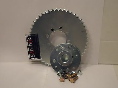 "Go KART SPROCKET MINI HUB 1"" bore 48 th sprocket #41 FREE FAST SHIP!"