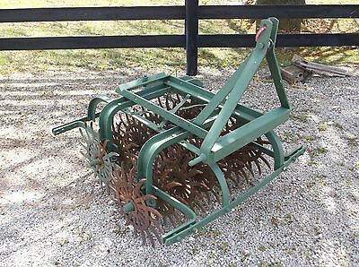 Used 3 1/2 FT. Spike Aerator, WE CAN SHIP CHEAPER and FASTER
