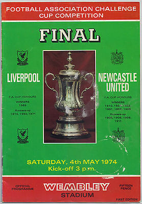 1974 May 4th Liverpool - Newcastle FA Cup