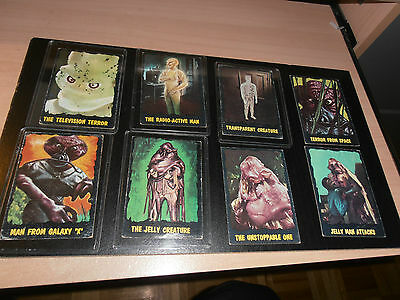 1964 T.c.g. Outer Limits Complete Set(50)Cards  Printed In Canada