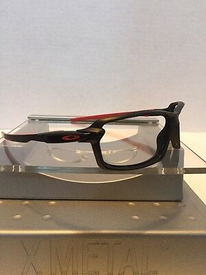 ++Oakley Carbon Shift Matte Black Frame Red Icons Fast Free S/H++