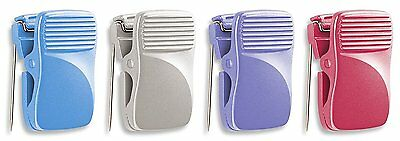 Officemate Cubicle Clips, Assorted Colors, Box of 24 30178