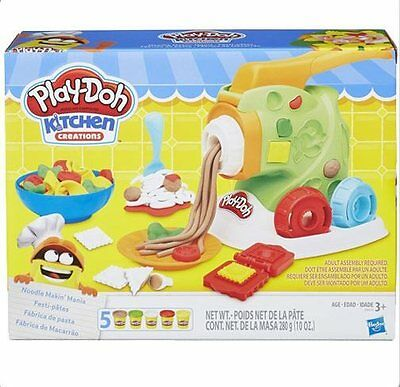 Official Play-Doh Kitchen Creations Noodle Makin Mania *NEW*