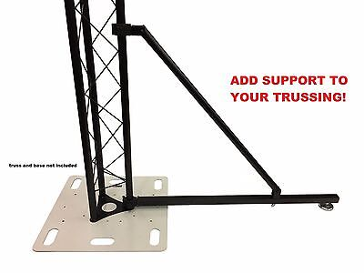 """Lighting Truss Ground Support Balance System Metal Heavy Duty 1.5""""/2"""" Trussing"""