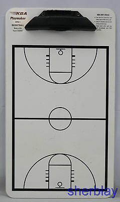 Basketball Board Coaches Dry Erase Clipboard Coach Clip Coaching KBA Playmaker