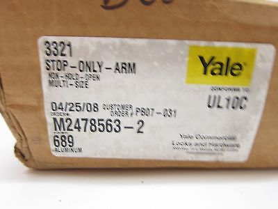 Yale 3521 Stop Only Grade 1 Architectural Door Closer 689 Aluminum 3000 Series