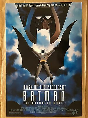 "Batman : Mask of the Phantasm 1993 Movie POSTER 27"" x 40"" Kevin Conroy, A Rolled"