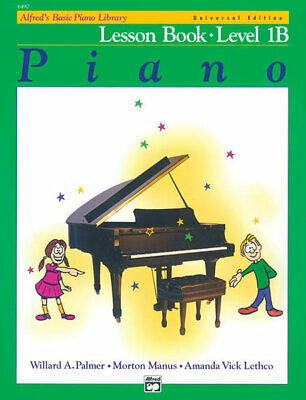 Alfred's Basic Piano Library - Lesson Book Level 1B+Cd *** NEW - 6490
