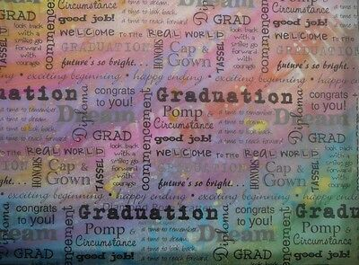 "12X12"" Vellum Graduation from It Takes Two 5 sheets"