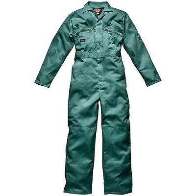 "Dickies Mens Redhawk Overalls Lincoln Green 40"" 30"""