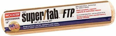 Wooster Brush RR925-14 Inch Super Fab FTP Roller Cover, 3/4-Inch Nap