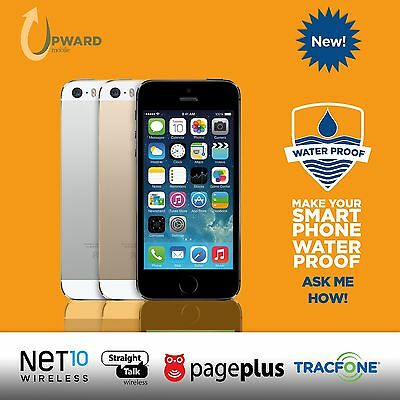NEW Apple iPhone 5s (16,32,64GB) Straight Talk Net10 Page Plus Tracfone