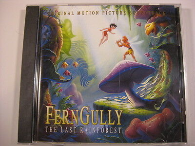 Ferngully Fern Gully soundtrack CD Elton John Robin Williams Sheena Easton