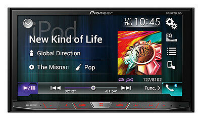 "Pioneer AVH-X8750BT 7"" Multimedia unit with Apple CarPlay & Android Auto"