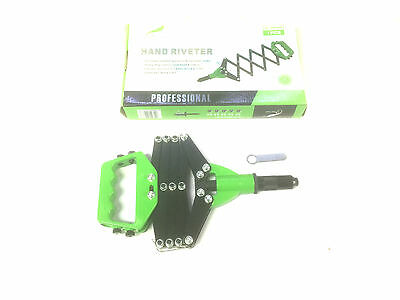 1 PC Latest Folding Pop Rivet / Riveting Gun Concertina Lazy Tong Riveter New