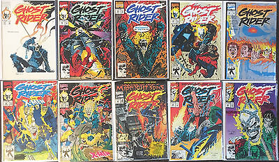 10 Ghost Rider 21 22 23 24 25 26 27 28 29 30 Marvel (1990 ) Danny Ketch Lot Nm