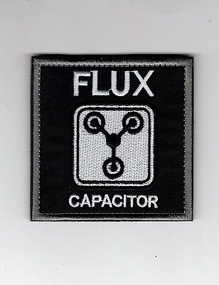 Back To The Future FLUX Capacitor Patch 3 inch with hook & Loop Fastener
