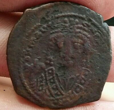 MAURICE TIBERIUS 582-602 -Large M, THEOPOLIS / ANTIOCH  MINT 29mm